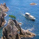 浦富海岸島巡り遊覧船